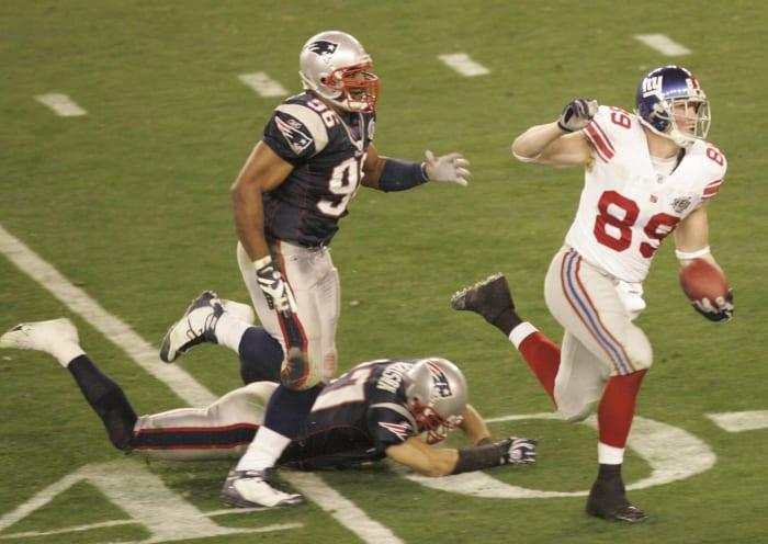 T-36. Super Bowl XLII: Patriots vs. Giants