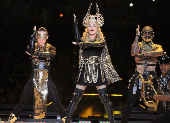 Super Bowl XLVI halftime show - Madonna