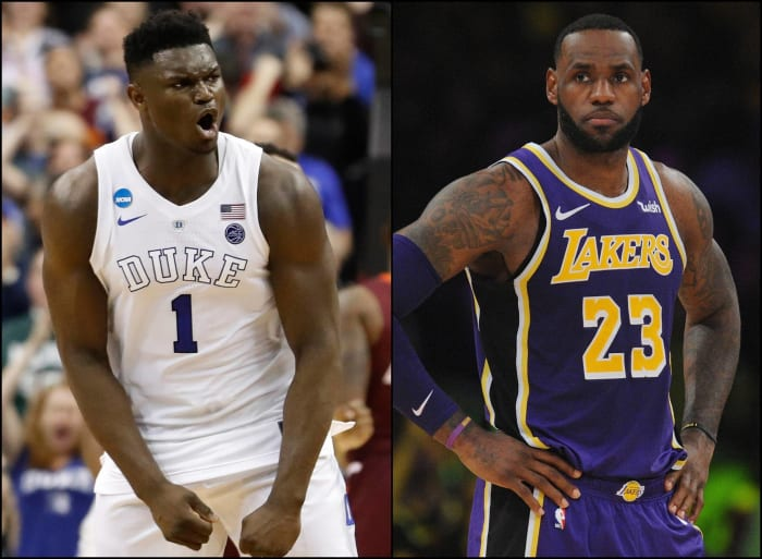 Zion = LeBron? 20 NBA Draft prospects and their comparable ...