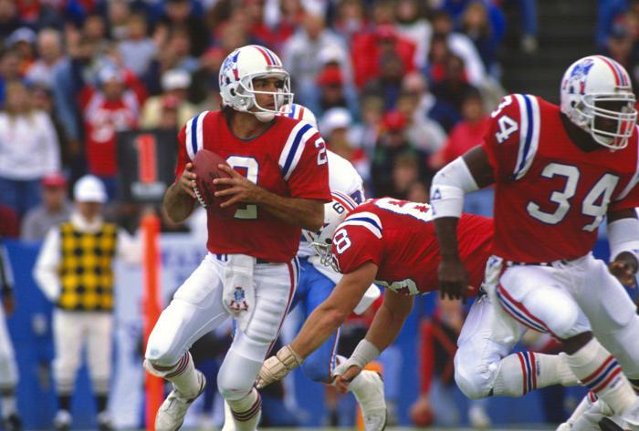 New England Patriots' best look: 1984-92 home