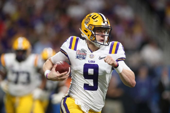 Cincinnati Bengals: Joe Burrow, QB, LSU