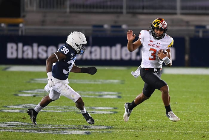 Four-touchdown underdog Maryland humiliates Penn State
