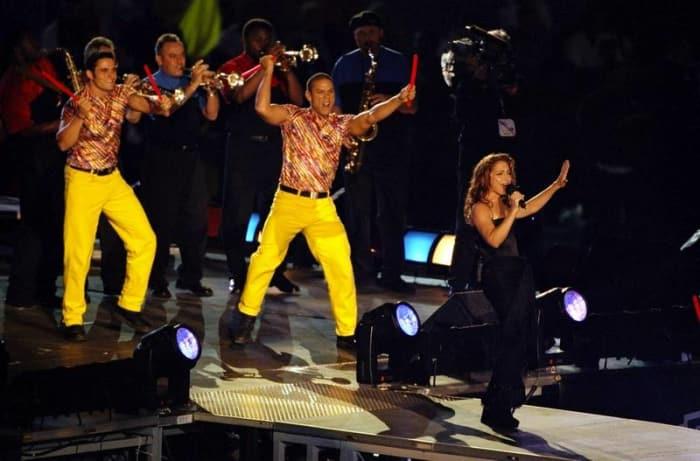 Super Bowl XXVI halftime show - Gloria Estefan