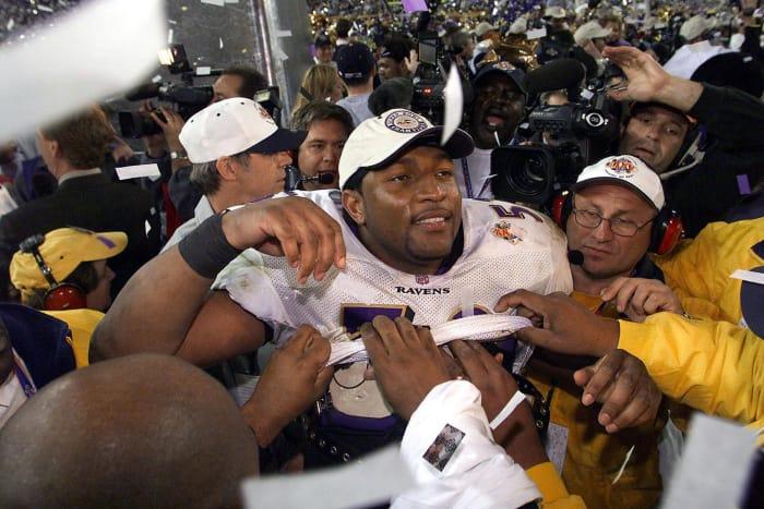 Ray Lewis: Super Bowl XXXV