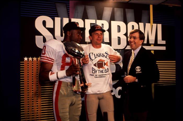 Super Bowl XXIV: Joe Montana, San Francisco 49ers, and John Elway, Denver Broncos