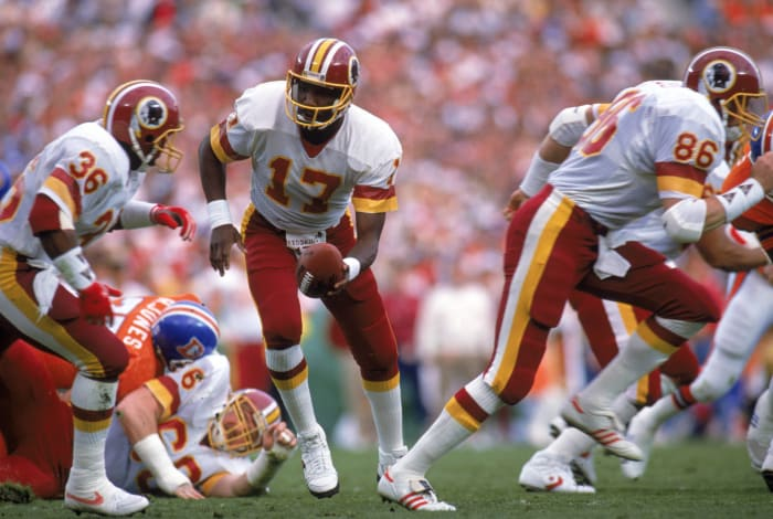 Super Bowl XXII: Doug Williams, Washington Redskins, and John Elway, Denver Broncos