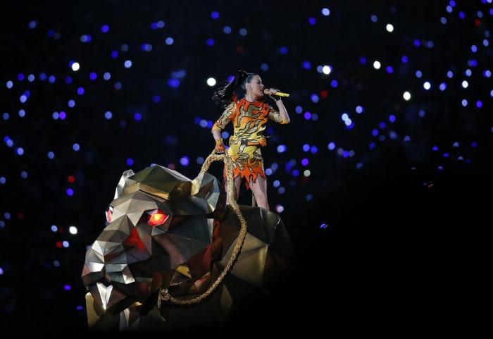 Super Bowl XLIX halftime show - Katy Perry