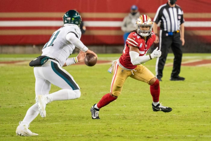 One 49er thriving amid injury chaos