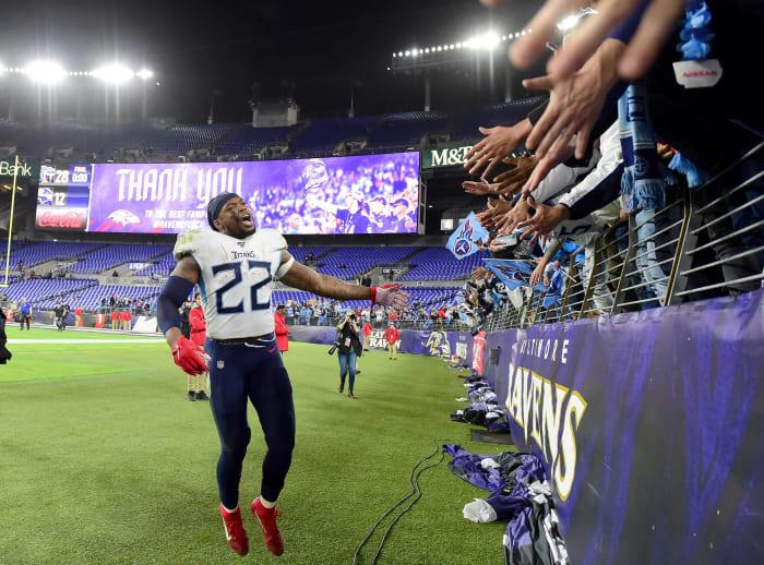 Titans, Henry bully top-seeded Ravens
