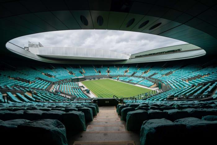 Redémarrage de Wimbledon