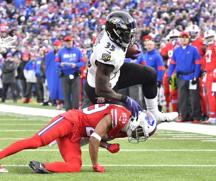 Baltimore Ravens: Gus Edwards