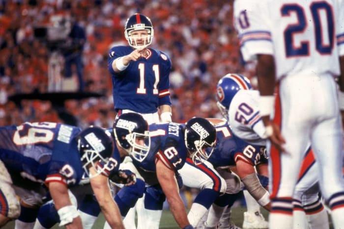 Phil Simms, QB, New York Giants - Super Bowl XXI
