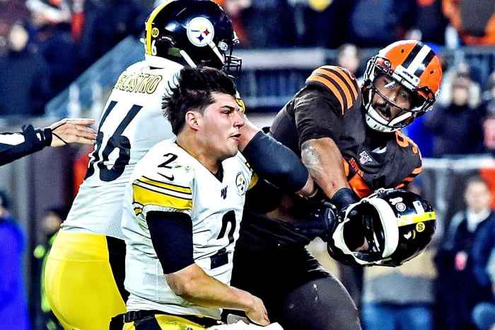 PITTSBURGH (12-3) AT CLEVELAND (10-5) (Sunday, 1 p.m. ET)