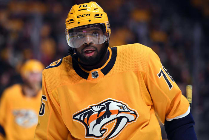 The P.K. Subban for Shea Weber trade