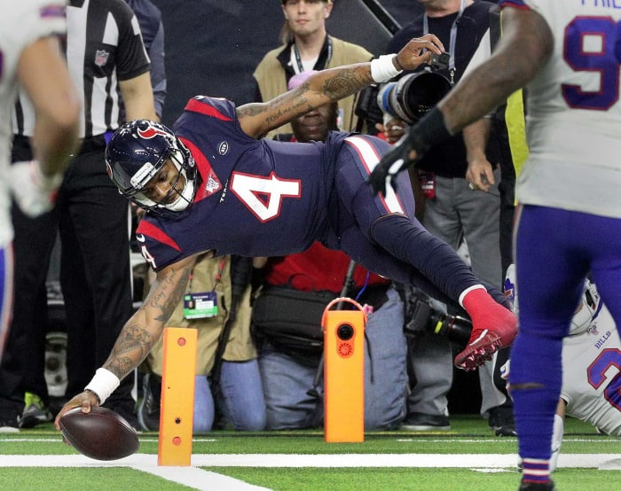 Jan 4: Texans beat Bills in Wild Card win