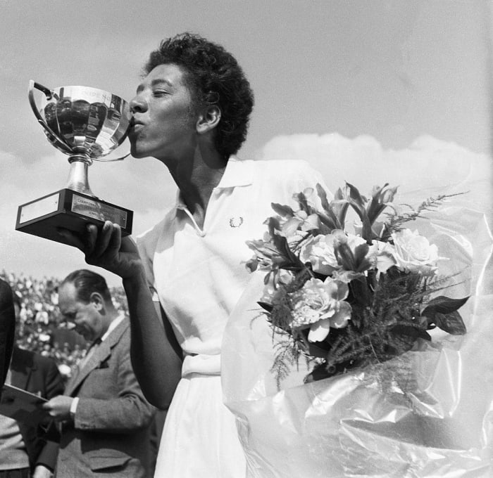 1950: First Black Female Tennis Player: Althea Gibson