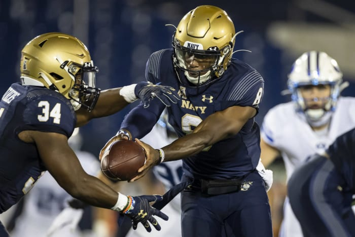 Navy (1-1) at Air Force (0-0), Saturday, 6 p.m., CBS Sports Network
