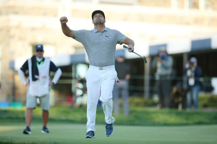 Bryson DeChambeau conquers Winged Foot and his doubters