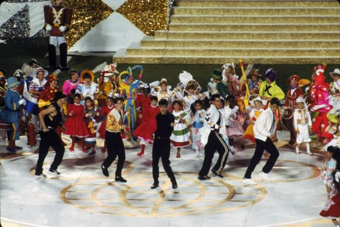 Super Bowl XXV halftime show - New Kids on the Block