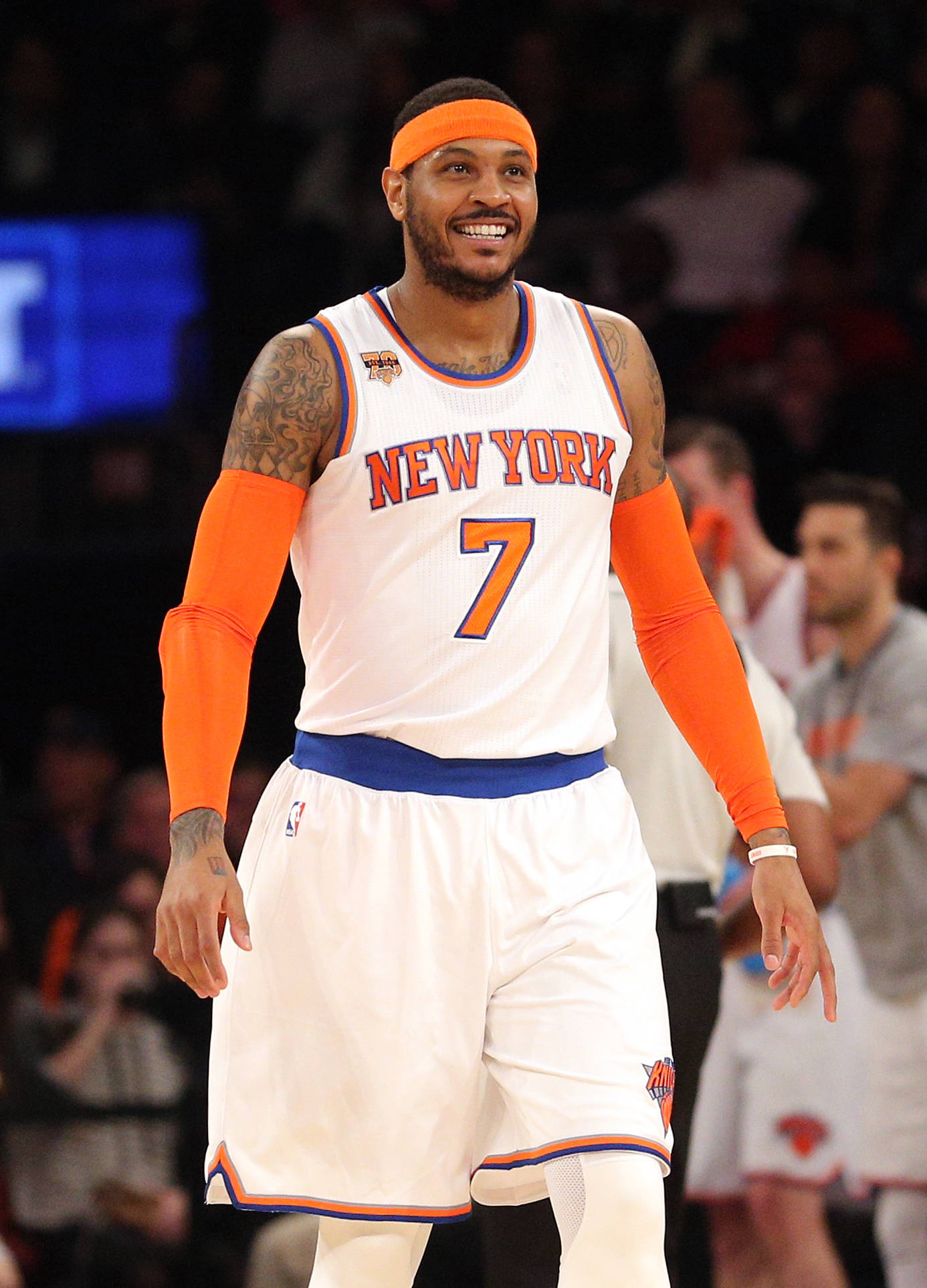 Paul George uses Instagram post to react to Carmelo ...