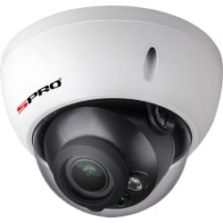 SPRO DHD20/2713RV-W-4 - 1080P 4 IN 1 VARIFOCAL VANDAL DOME, 2.7-1