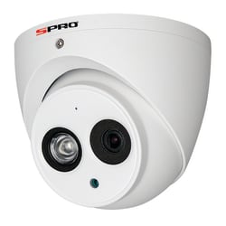 SPRO DHD40/28RW-T-POC - 4MP TURRET DOME, 2.8MM, 50M IR, POWER OVER COAX