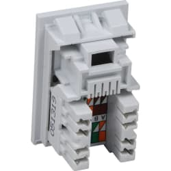 Excel Category 6 (UTP) Unscreened RJ45 Module - 6c Low Profile -