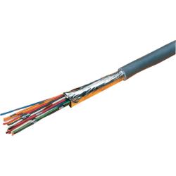 Excel Grey 10 Core Cable - 500 Metre Reel