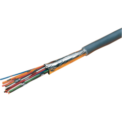 Excel Grey 10 Core Cable - 100 Metre Reel