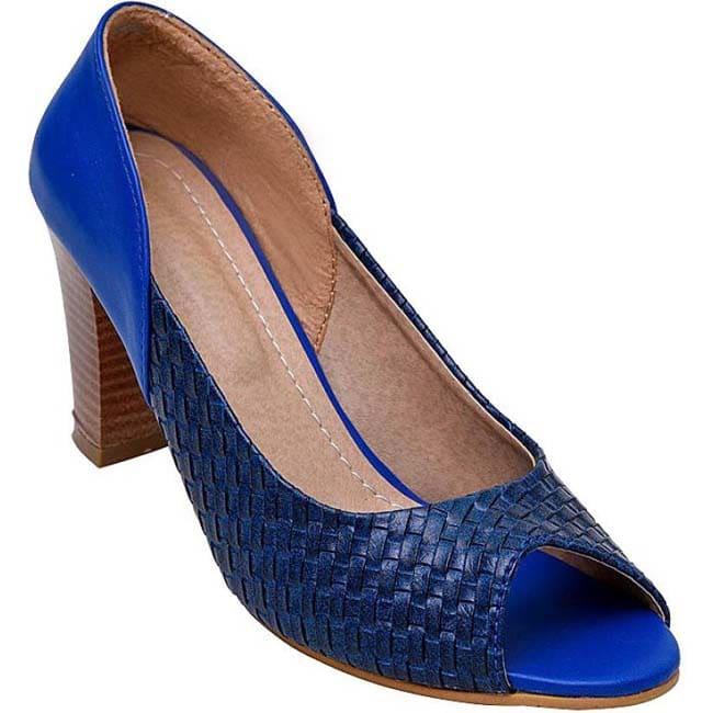 Branded Women Blue Heels