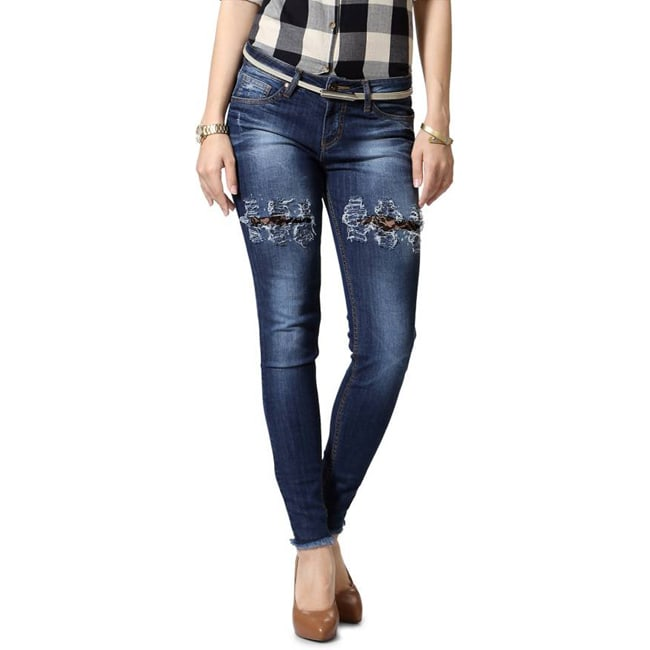 People Slim Women's Blue Jeans