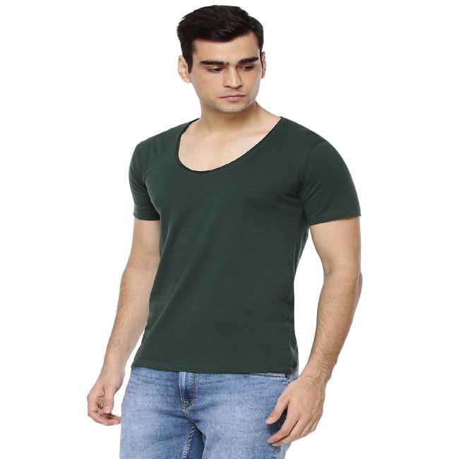 Exclusive Scoop Neck T-Shirt