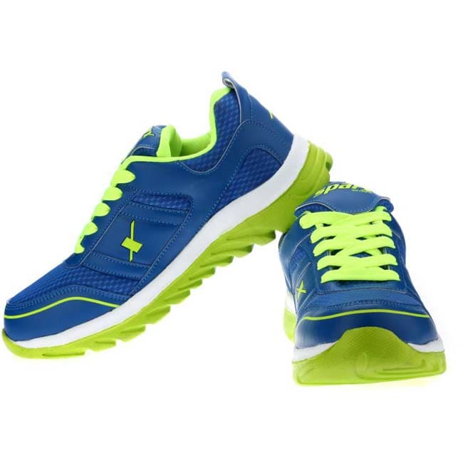 Sparx Running Shoes  (Blue, Green)
