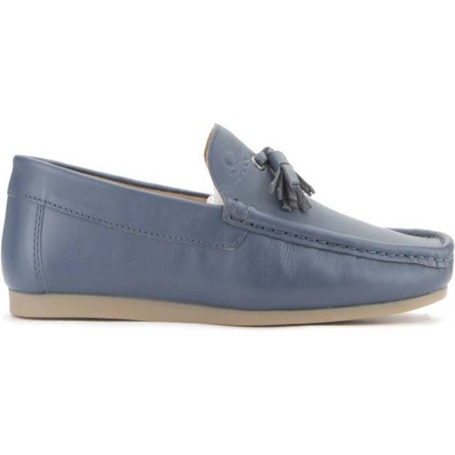 United Colors of Benetton Men Loafers  (Blue)